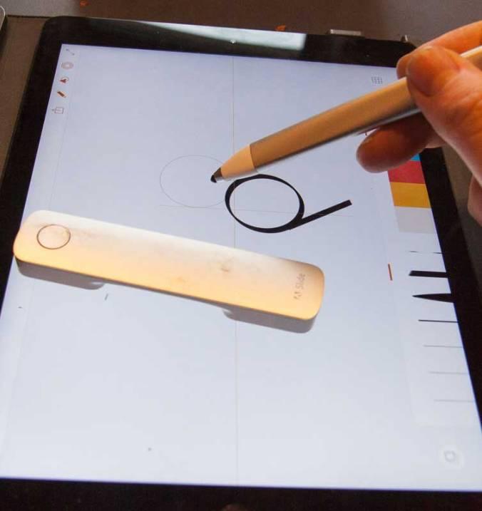 Mit Ink & Slide können auch Untalentierte perfekte Kreise zeichnen. Was werden erst Profis damit tun?
