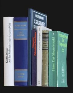 Kann man Bücher auch im Dunkeln lesen? (Foto: Handler)
