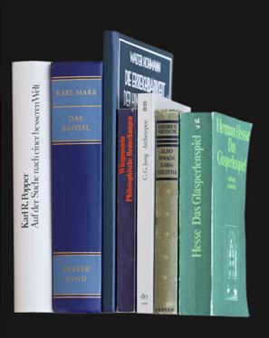 Bücher halten fast ewig. (Foto: Handler)