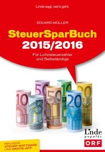 Das Steuersparbuch 2015/2016. (Bild: Linde-Verlag)