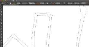 Digitalisierungsergebnis im Detail. Ganz in Ordnung, nicht wahr? (Screenshot aus Illustrator)